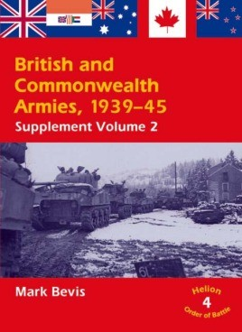 British and Commonwealth Armies 1939-45