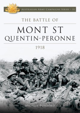 Battle of Mont St Quentin Peronne 1918
