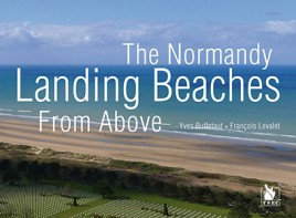 The Normandy Landing Beaches from Above