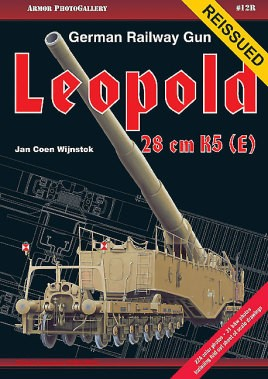 German Railway Gun 28 cm K5(E) Leopold