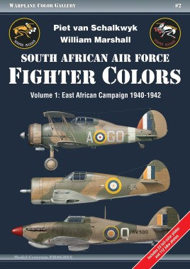 South African Air Force Fighter Colors. Volume 1