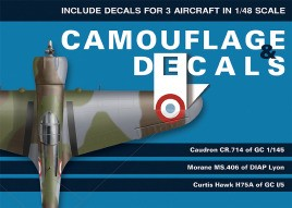 Caudron Cr. 714, MS 406, Hawk H75A (1/48 Scale)