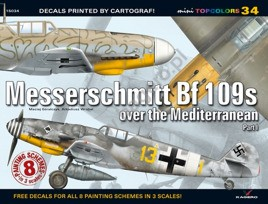 Messershcmitt Bf 109s Over the Mediterranean