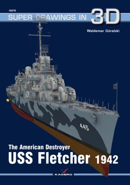 The American Destroyer USS Fletcher 1942