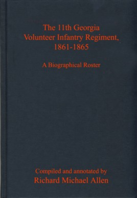The 11th Georgia Volunteer Infantry Regiment, 1861-1865