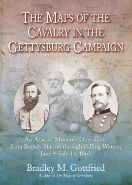 The Maps of the Cavalry in the Gettysburg Campaign