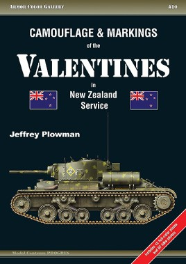Camouflage and Markings of the Valentines in New Zealand Service