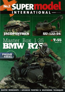 Jagdpanther and SU-122-54