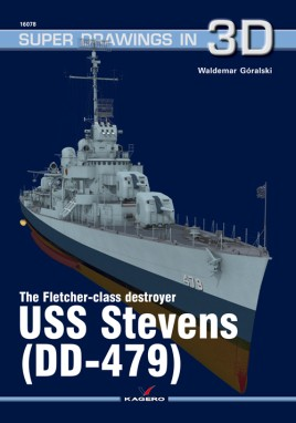 The Fletcher-class Destroyer USS Stevens (DD-479)