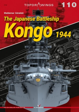 The Japanese Battleship Kongo 1944